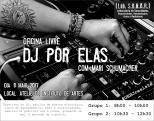 Oficina Livre DJ POR ELAS