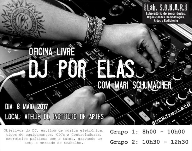 Oficina DJ por Elas