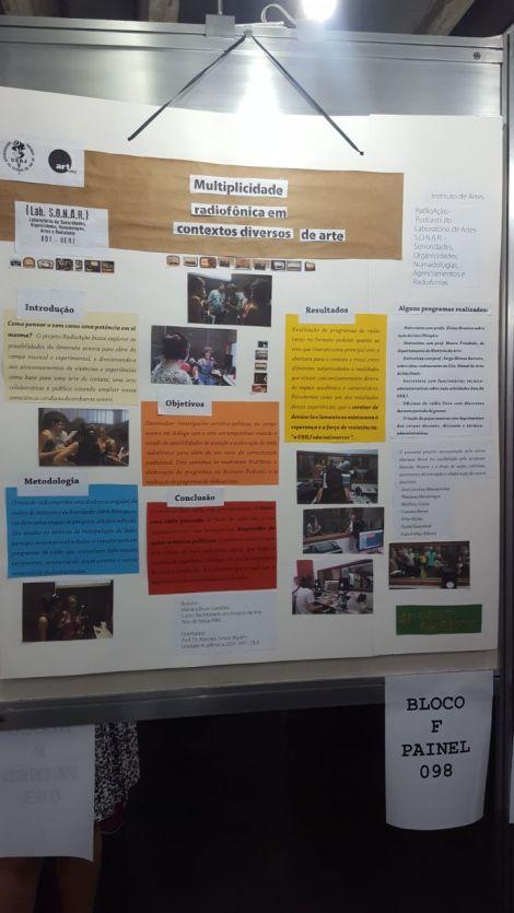 Foto do Poster na SEMIC